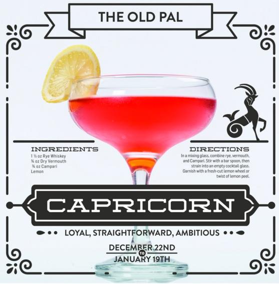 capricorn cocktail
