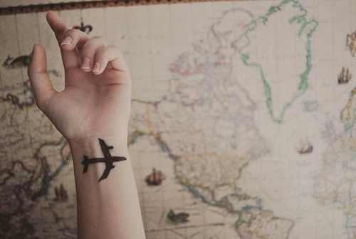 tatuaje avion