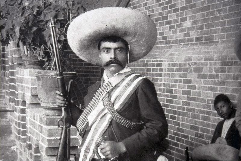 Mexicano Emiliano Zapata