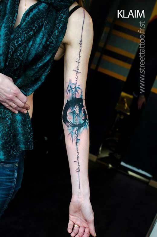 enso animal tatuaje