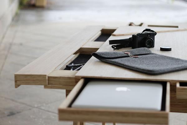 escritorio cajones