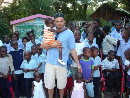 fotos de Leonardo Di Caprio-africa