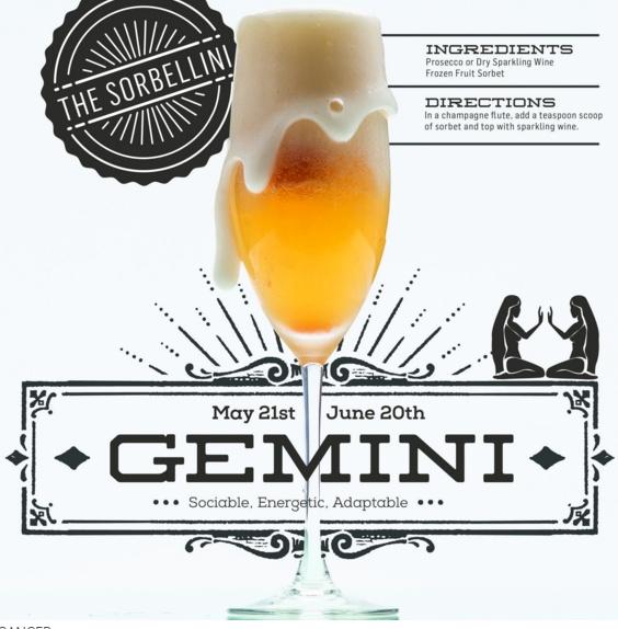 gemini cocktail