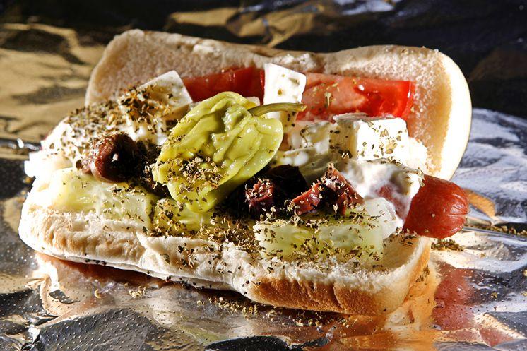 hotdog-griego