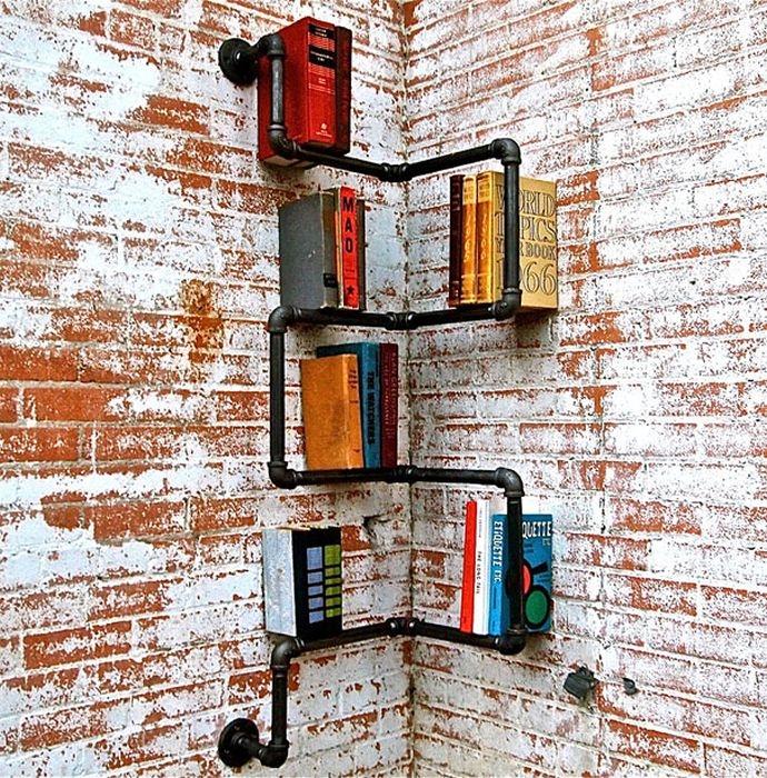 ideas de reciclaje-librero