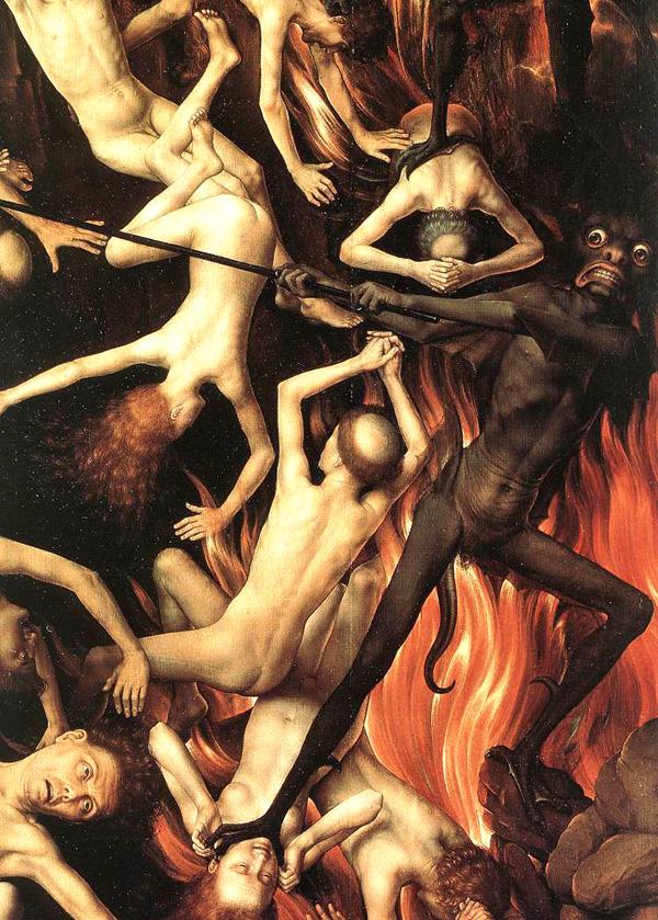 infierno, memling