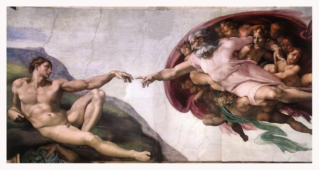 La Creación de Adán