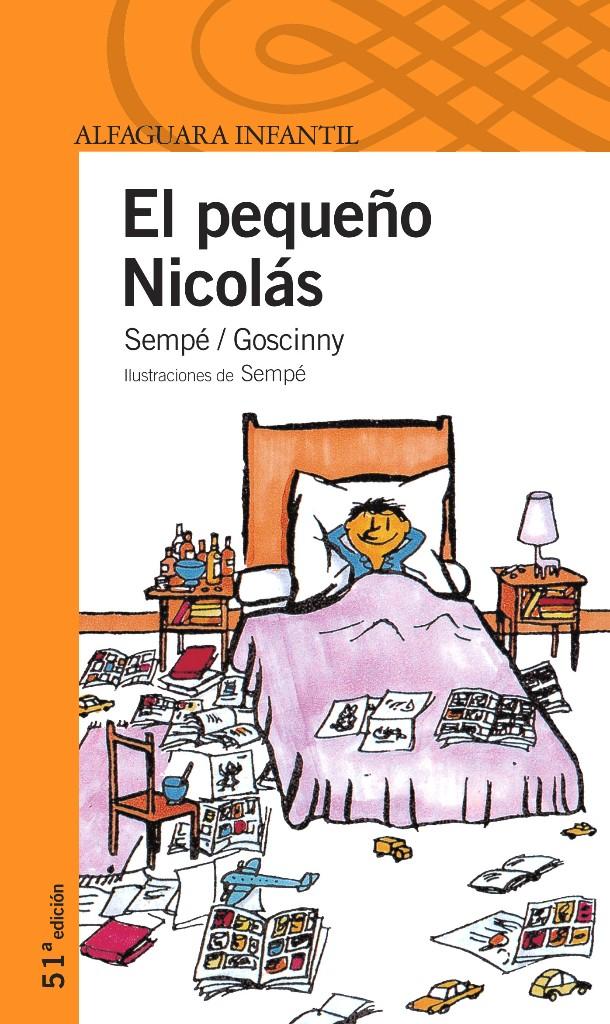 libros para niño el pequeño nicolás