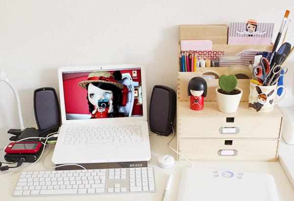 lugar de trabajo-organizador