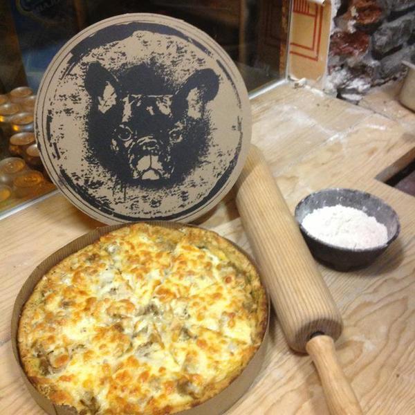 pizzas del perro negro