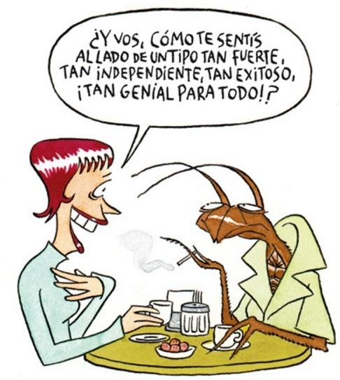 maitena Ilustraciones cucaracha