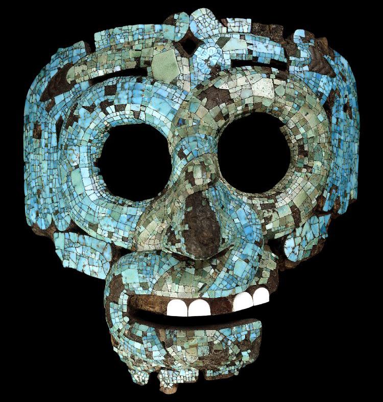 mascara de quetzalcoatl