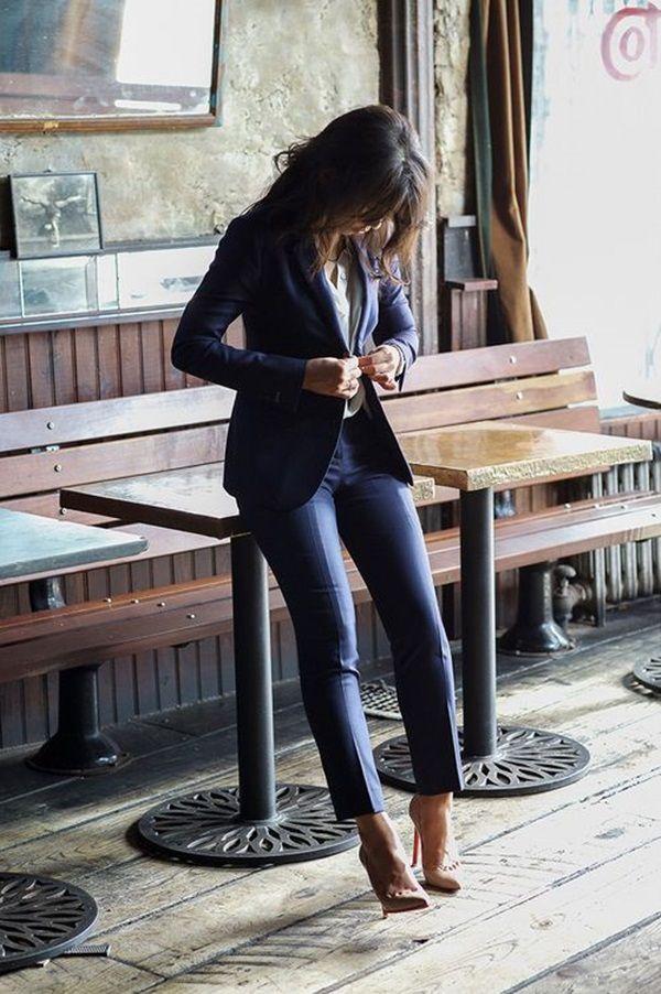 pantalon negro coco chanel