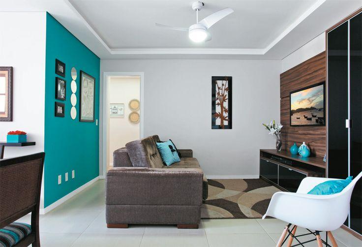 pared color departamento de soltera