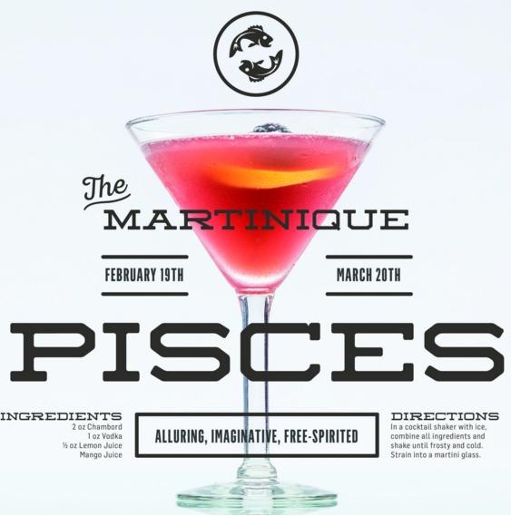 piscis cocktail