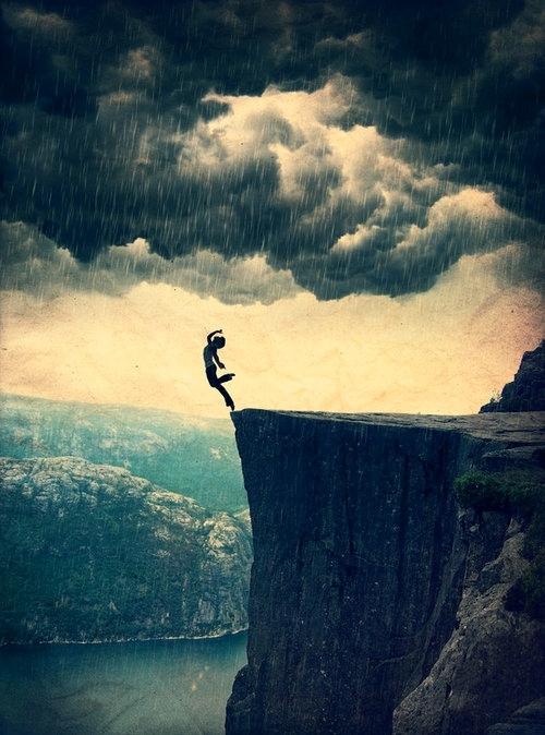 Y lo difícil no es la caída