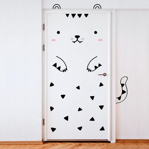puerta gatito