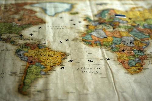 recorrer  el mundo-mapa