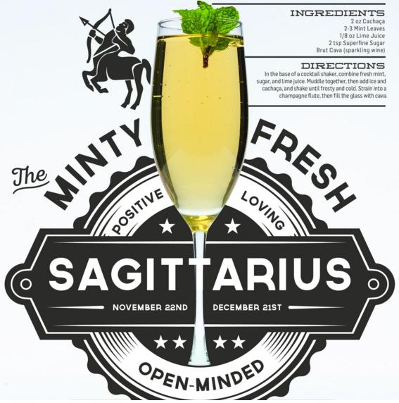sagitarius cocktail