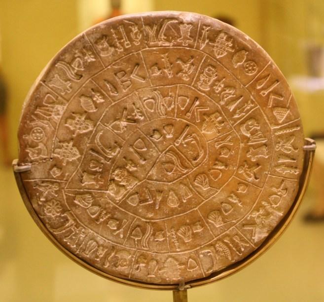 lenguaje minoico