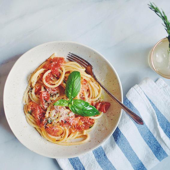 spagheti recetas rapidas