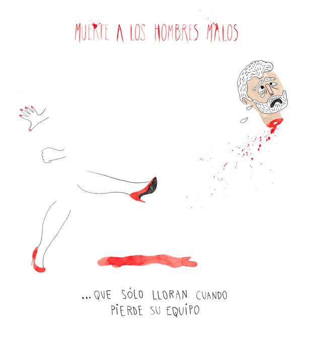 muerte a los hombres malos