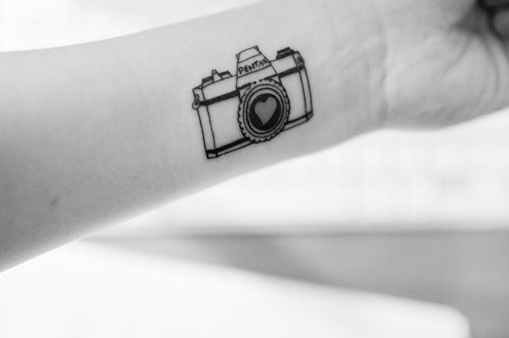 tatuajes de fotografia amantes