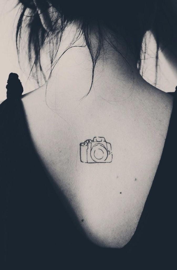 tatuajes de fotografia boceto