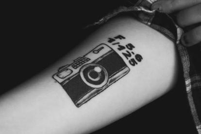 tatuajes de fotografia camara