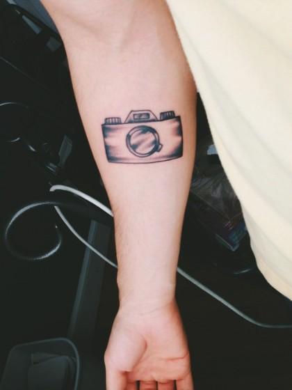 tatuajes de camaras