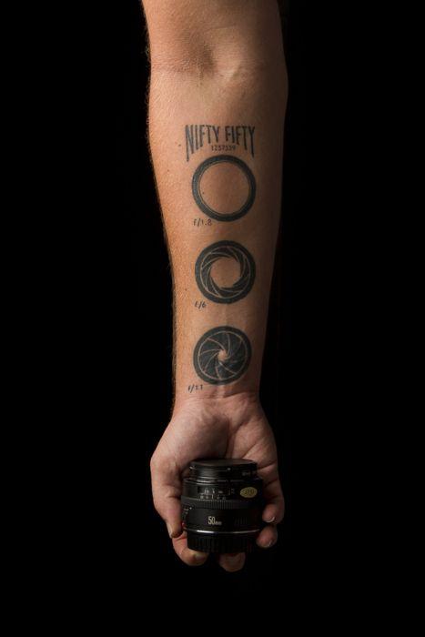 tatuajes de fotografia obturador