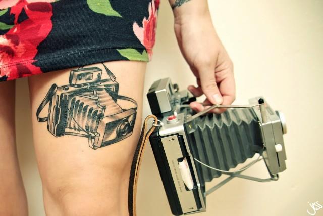 tatuajes de fotografia vieja