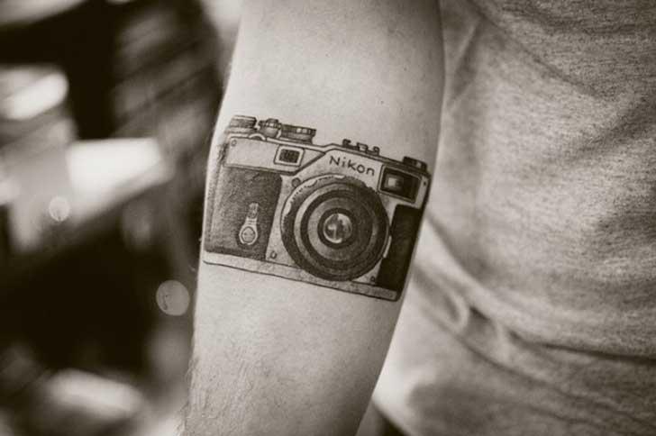 tatuajes fotografia nikon camara