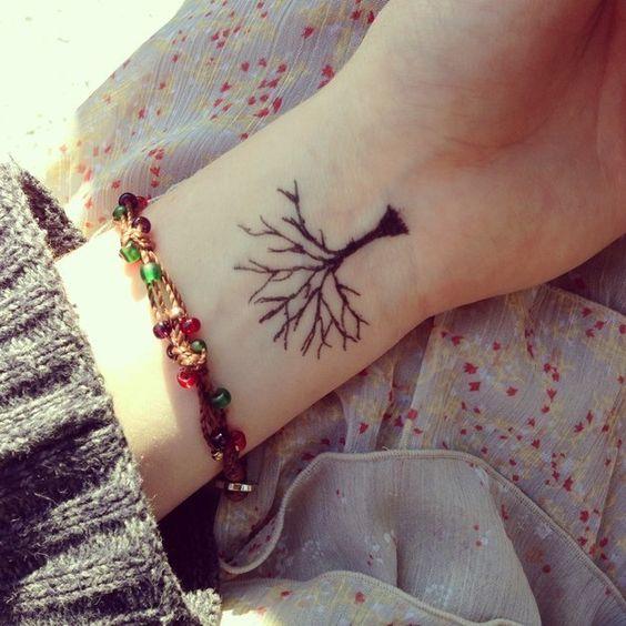 árbol de la familia muñeca tatuajes con diseños