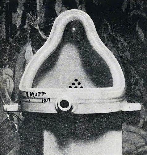 """La fuente"" Marcel Duchamp"