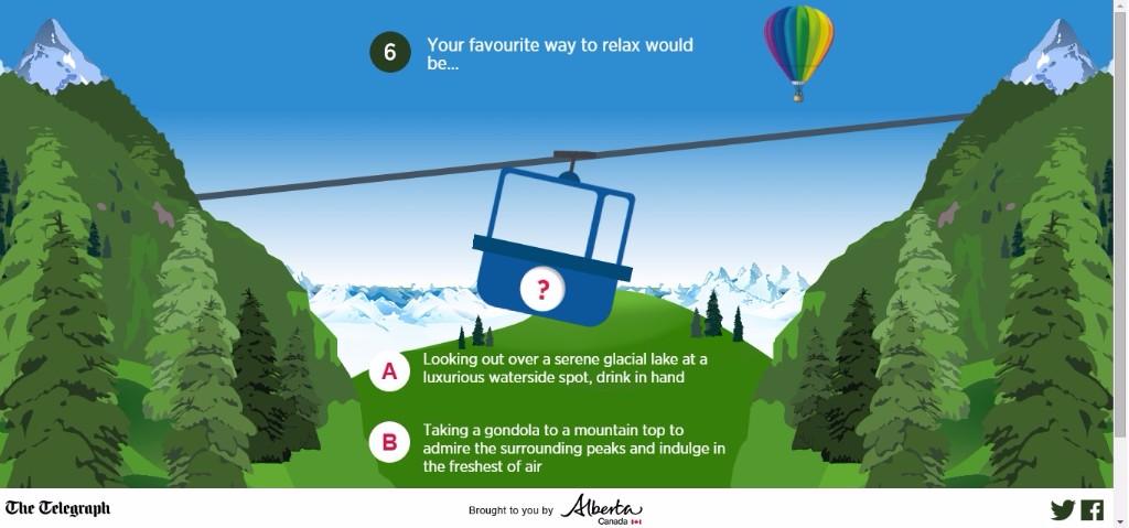 Alberta Adventure Quiz
