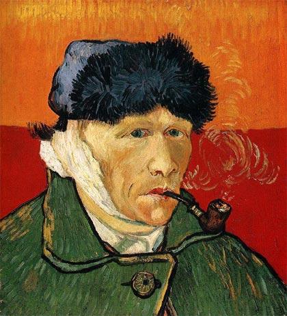 Oreja Van Gogh autorretrato