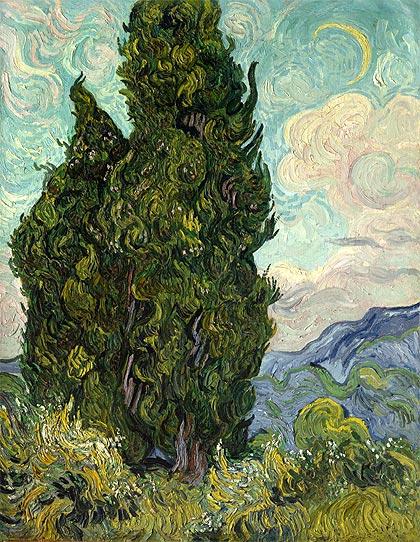 Van Gogh cipreses
