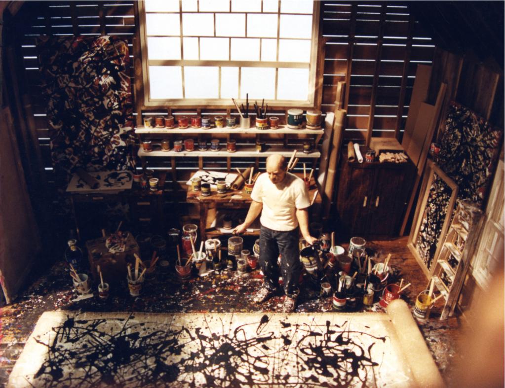 Estudio Jackson Pollock