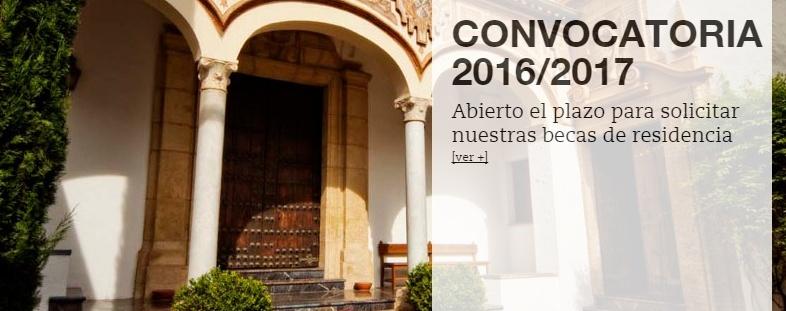 Fundación Antonio Gala residencias artísticas