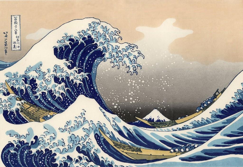 Hokusai-La gran ola
