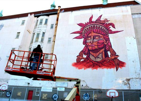 El artista mexicano que hay que voltear a ver a través de sus murales 0