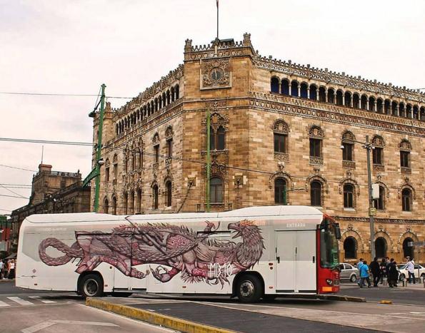 Naturaleza Sego metrobus