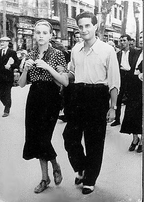 Octavio Paz y Elena Garro