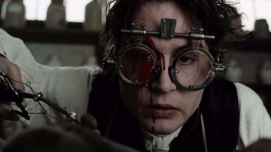 Sleepy Hollow películas de Johnny Depp