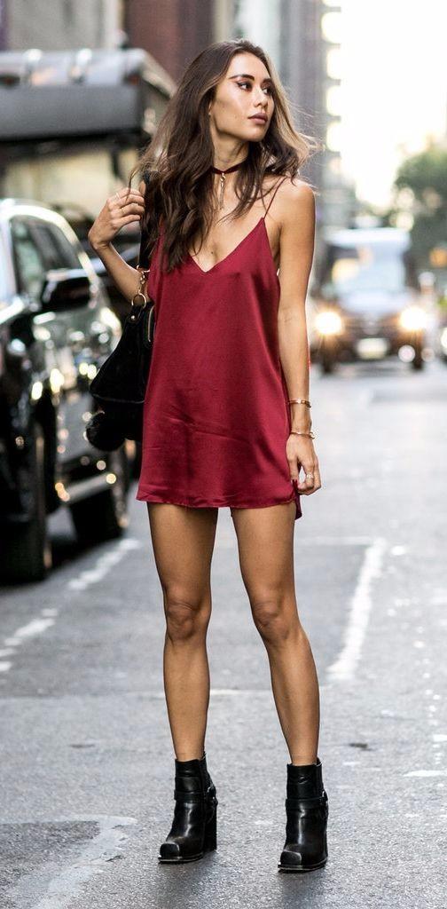 Slip dress moda 2016