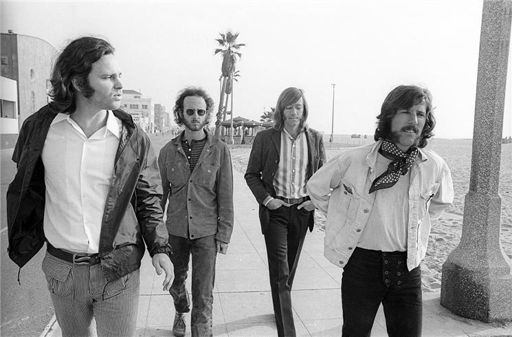 The Doors Morrison beach