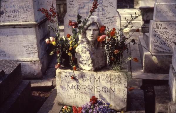 The Doors Morrison grave