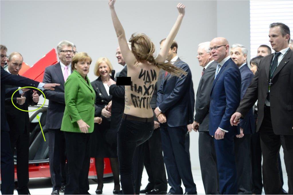 Vladimir Putin-nude