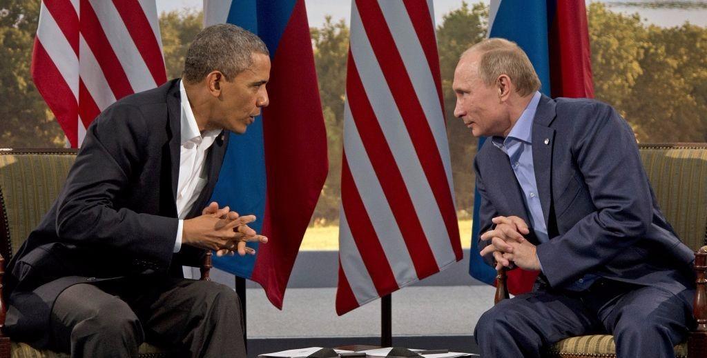 Vladimir Putin-obama